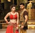 Hansika Motwani, Vijay in Puli Movie New Photos