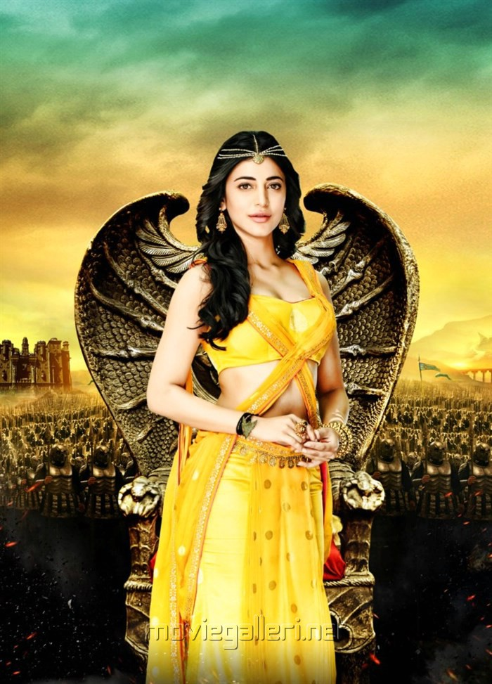Picture  Actress Shruti Hassan in Puli Movie New Photos