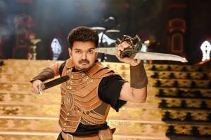 Actor Vijay in Puli Tamil Movie Stills