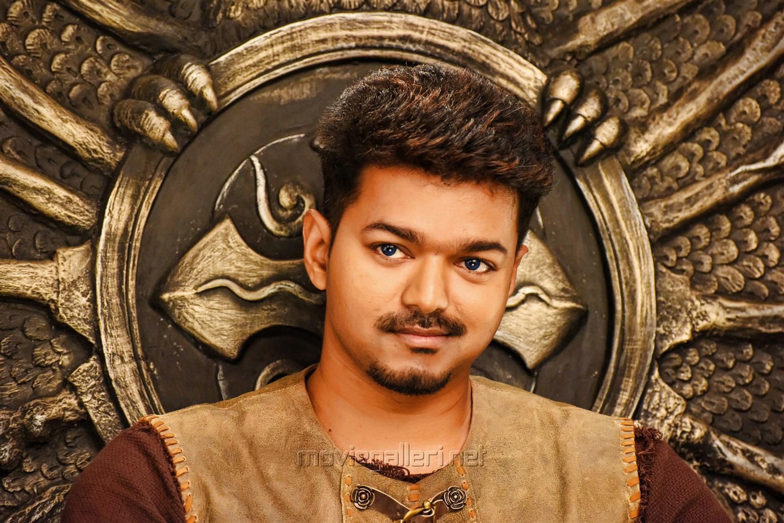 Actor Vijay's Puli Tamil Movie Stills