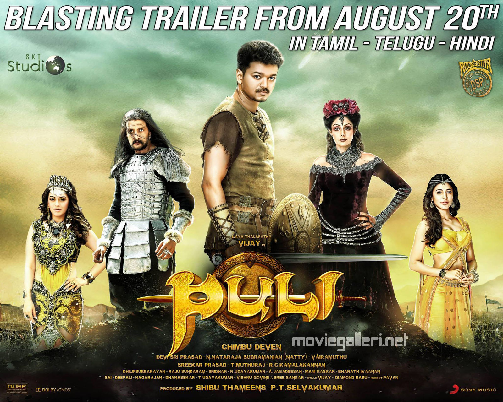 Puli Official Poster Picture 919401   Hansi...