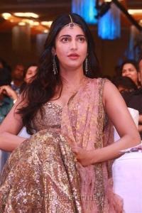 Actress Shruti Hassan @ Puli Movie Audio Launch Photos