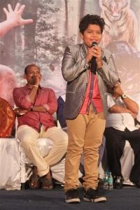 Master Ajas @ Pulimurugan Tamil Audio Launch Stills