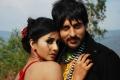 Gayathri, Rishi Bhutani in Pulippu Inippu Movie Stills