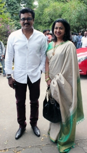 Sarathkumar & Radhika @ Pulivaal Movie Press Meet Stills