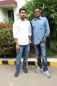 Listin Stephen, Sameer Thahir @ Pulivaal Movie Press Meet Stills