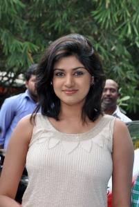 Actress Oviya @ Pulivaal Movie Press Meet Stills