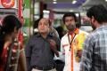 Thambi Ramaiah, Soori in Pulivaal Movie Stills
