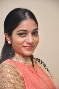 Telugu Actress Punarnavi Bhupalam Photos in Floor Length Anarkali Dress