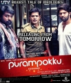 Vijay Sethupathi, Shaam, Arya in Purampokku Movie Release Posters