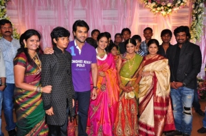 Ram Charan Tej @ Puri Jagannath Daughter Pavithra Event Stills