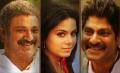 Suresh, Rachana Maurya, Jagapathi Babu in Puthagam Movie Audio Release Wallpapers
