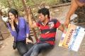 Sathya, Rakul Preet Singh in Puthagam Movie Working Stills