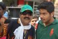 Vijay Adhiraj, Sathya at Puthagam Movie Working Stills