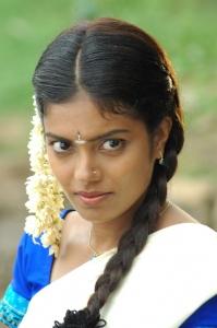 Actress Janavi in Puthiya Kaviyam Tamil Movie Stills