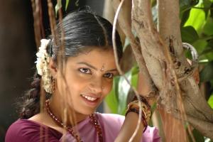 Actress Janavi in Puthiya Kaviyam Movie Stills