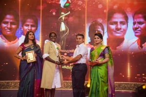 Kasthuri, Thirush Kamini @ Puthiya Thalaimurai Sakthi Awards 2018 Photos