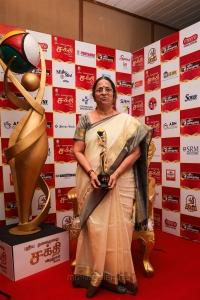 Bhagirathi Ramamurthy @ Puthiya Thalaimurai Sakthi Awards 2018 Photos