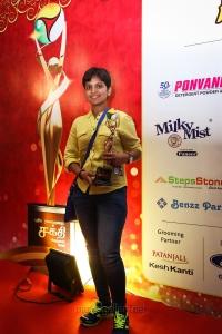 Kausalya Shankar @ Puthiya Thalaimurai Sakthi Awards 2018 Photos