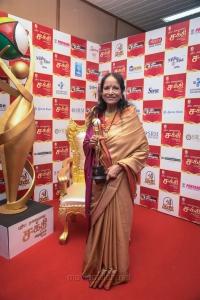 Singer Vani Jairam @ Puthiya Thalaimurai Sakthi Awards 2018 Photos