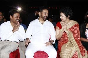 Kamal Hassan & Gouthami at Puthiya Thalaimurai Thamizhan Awards 2013 Photos