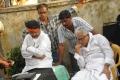 Director Kodi Ramakrishna's 'Puttaparthi Sai Baba Charitra' Working Stills