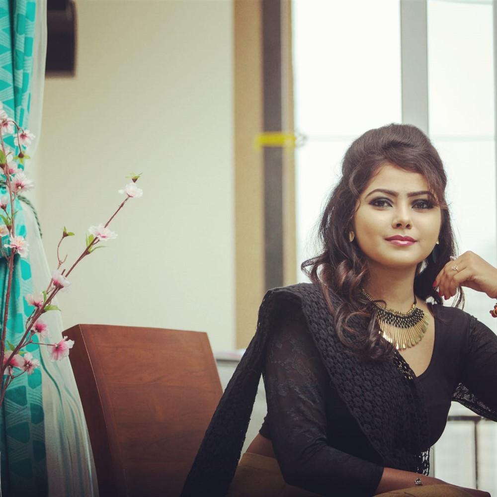 Revathy Dharan @ Puyalil Oru Thoni Movie Pooja Stills