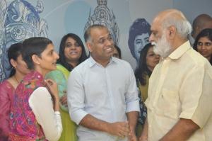 PVP, K Raghavendra Rao @ PVP Cinemas Prod No 10 Movie Pooja Stills