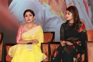Ramya Krishnan, Anjana Jayaprakash @ Queen Web Series Press Meet Photos
