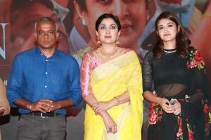 Gautham Vasudev Menon, Ramya Krishnan, Anjana Jayaprakash @ Queen Web Series Press Meet Photos