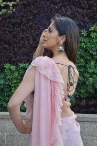 Actress Laxmi Raai Pics @ Where is The Venkata Lakshmi Movie Interview