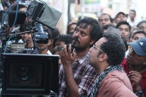 Actor Natraj at Raanjhnaa Movie On Location Stills
