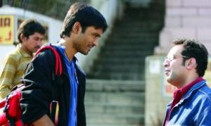Dhanush, Anand L. Rai at Raanjhnaa Movie On Location Stills