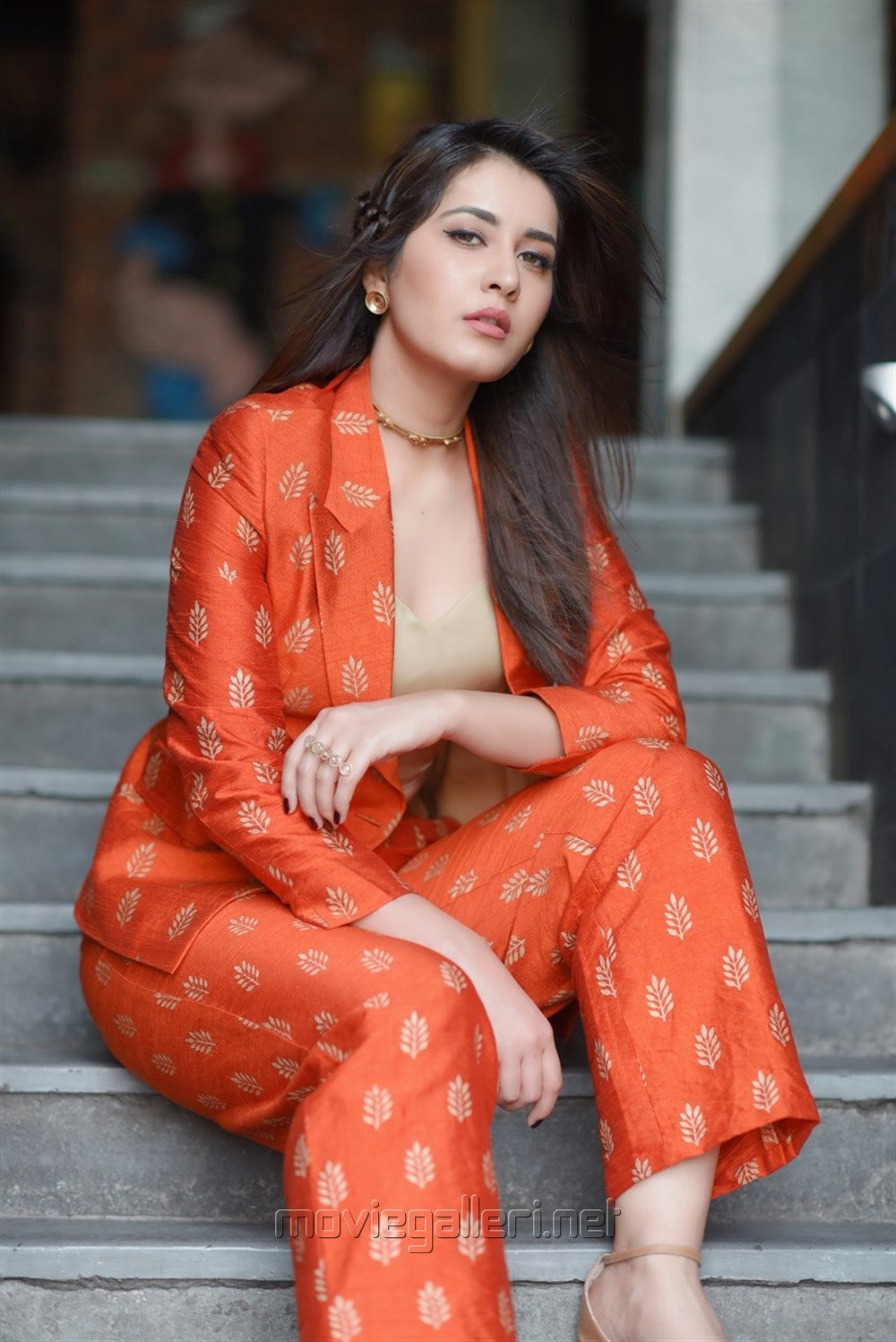 Picture 1198697  Actress Raashi Khanna Latest Photoshoot In Hot Red Dress  New Movie -7550