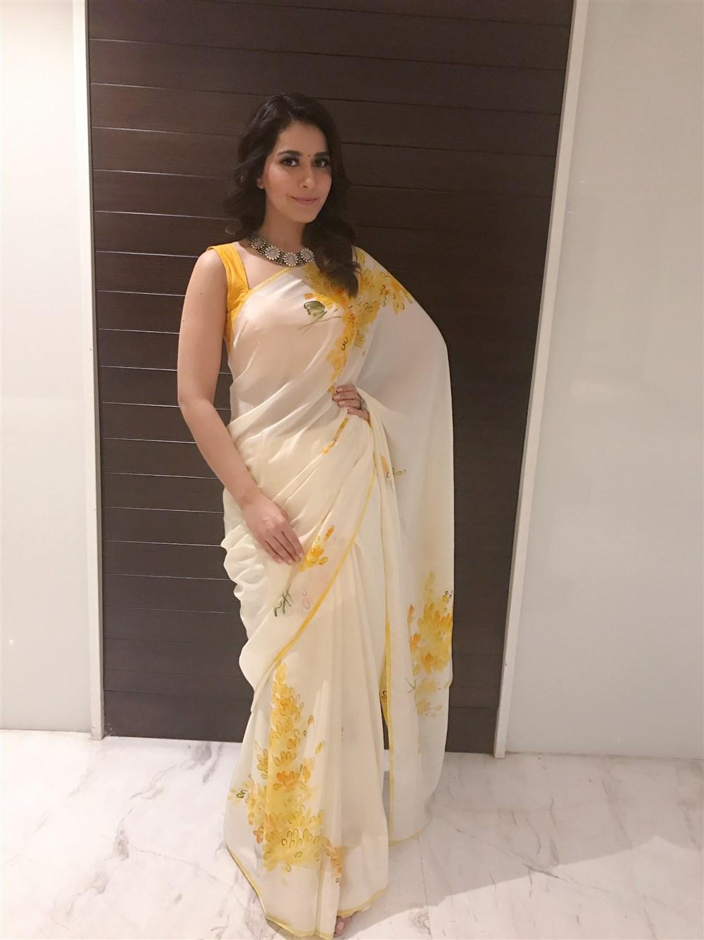 Actress Rashi Khanna Pics @ Villain Movie Audio Launch