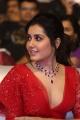 Actress Rashi Khanna Red Dress Pics @ World Famous Lover Pre Release
