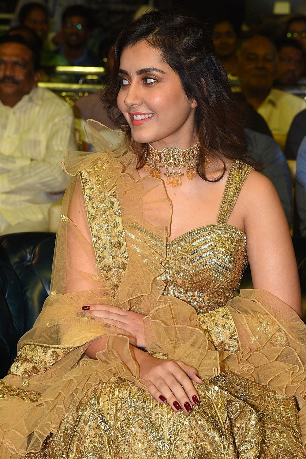 Venky Mama Movie Actress Raashi Khanna New Images
