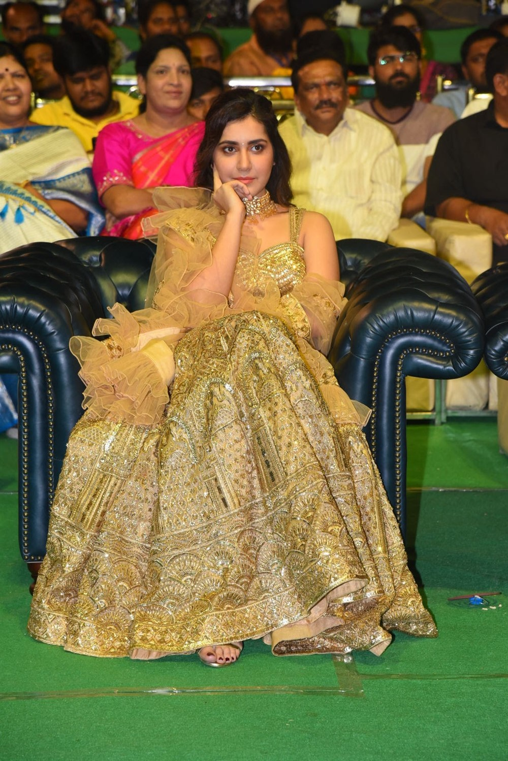 Actress Raashi Khanna New Images @ Venky Mama Pre Release