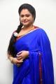Actress Raasi in Blue Saree Photos