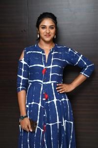 Actress Indhuja @ Raatchasi Movie Premiere Show Photos