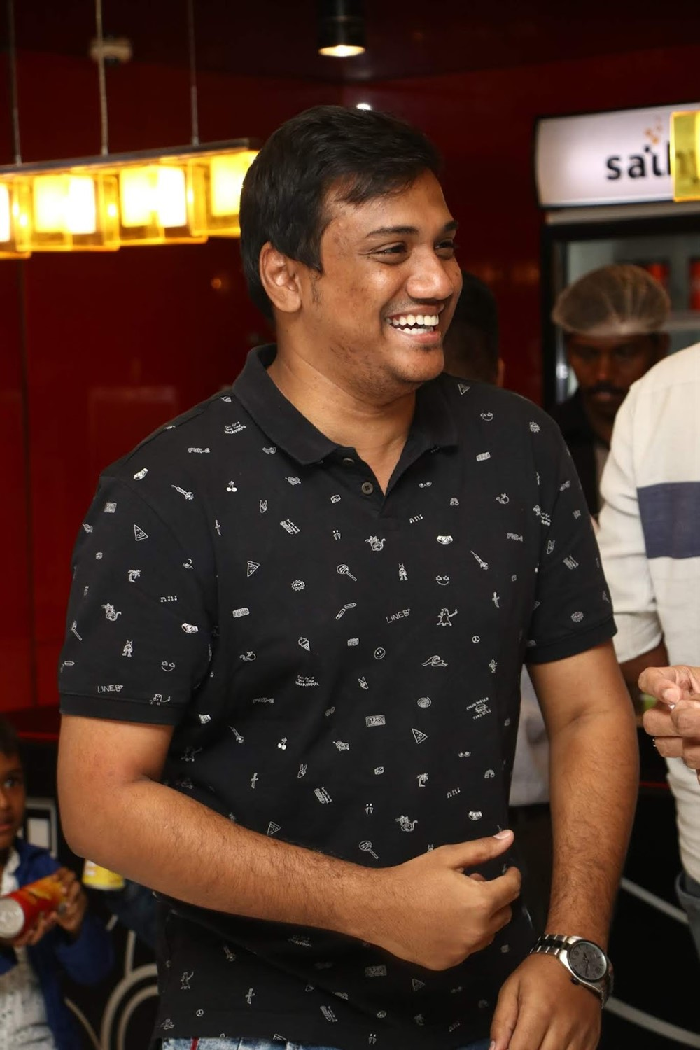 Sanjay bharathi @ Raatchasi Movie Premiere Show Photos