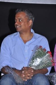 Gautham Menon at Raattinam Audio Launch Stills
