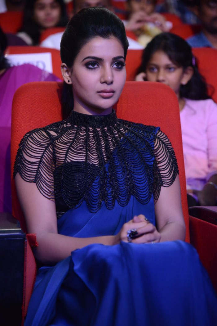Actress Samantha Ruth Prabhu @ Rabhasa Audio Release Function Photos