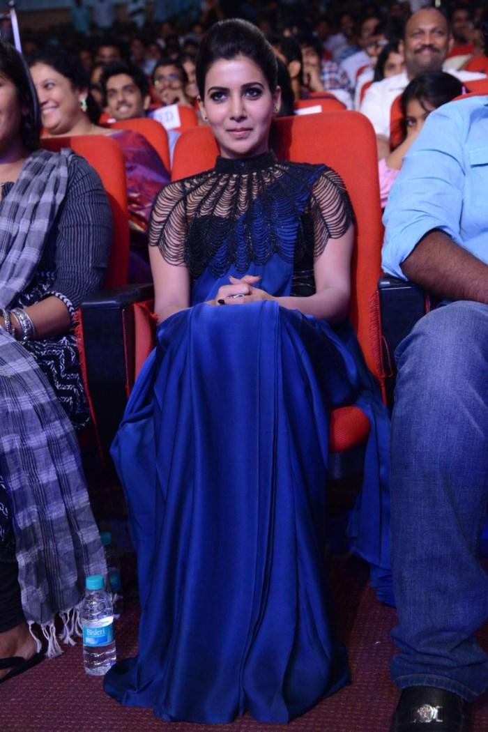 Actress Samantha @ Rabhasa Audio Release Function Photos