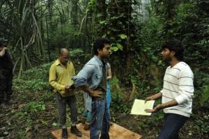 Racha Movie Working Stills