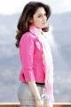 Racha Tamanna Cute Stills in Pink Dress
