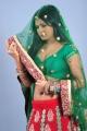 Rachana Mourya Latest Spicy Photos in Green Dress
