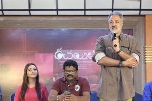 KL Damodar Prasad @ Rachayitha Movie Press Meet Stills