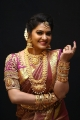 Actress Rachitha Mahalakshmi Cute Saree HD Images