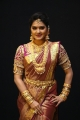 TV Serial Actress Rachitha Mahalakshmi Silk Saree HD Images